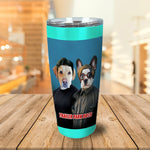Trailer Park Dogs 1 Personalized 2 Pet Tumbler