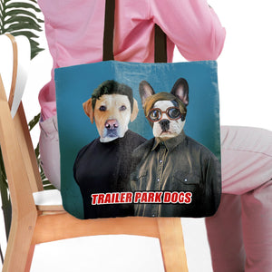 'Trailer Park Dogs 1' Personalized 2 Tote Bag