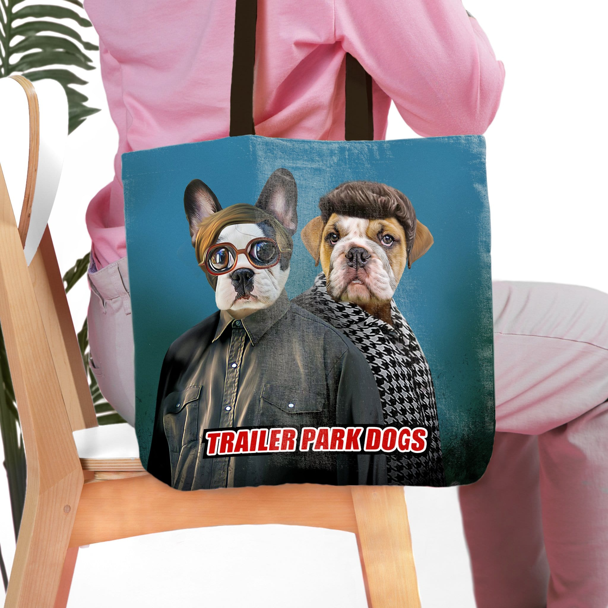 'Trailer Park Dogs 2' Personalized 2 Tote Bag