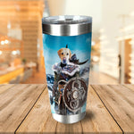 'Viking Warrior' Personalized Tumbler