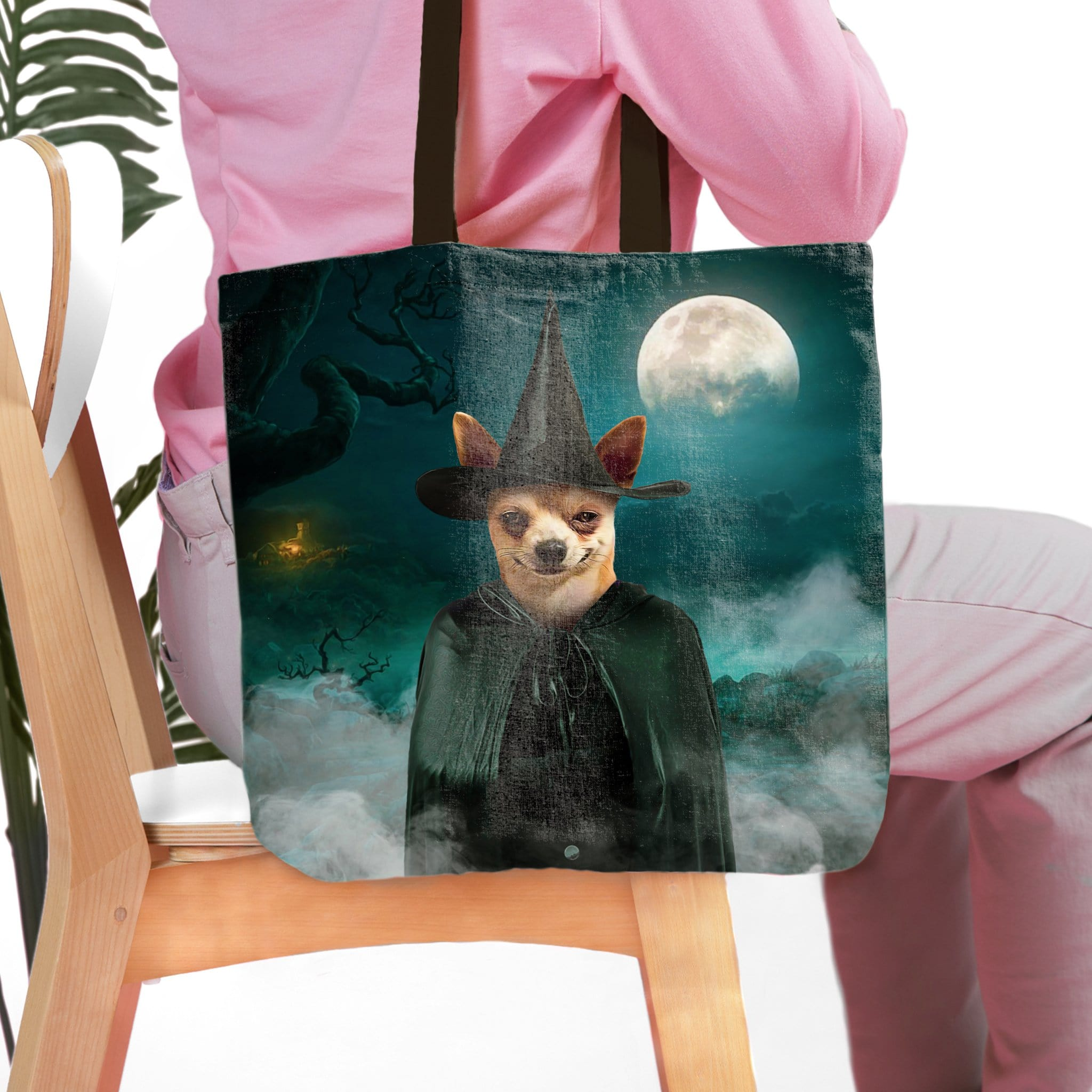 'The Witch' Personalized Tote Bag