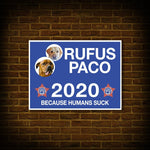 'Your Dog 2020' Personalized 2 Pet Poster