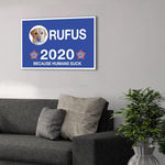 'Your Dog 2020' Personalized Pet Canvas