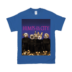 'Humps in the City' Personalized 4 Pet T-Shirt