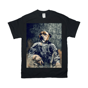'The Army Veteran' Personalized Pet T-Shirt