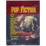 'Pup Fiction' Personalized Pet Blanket