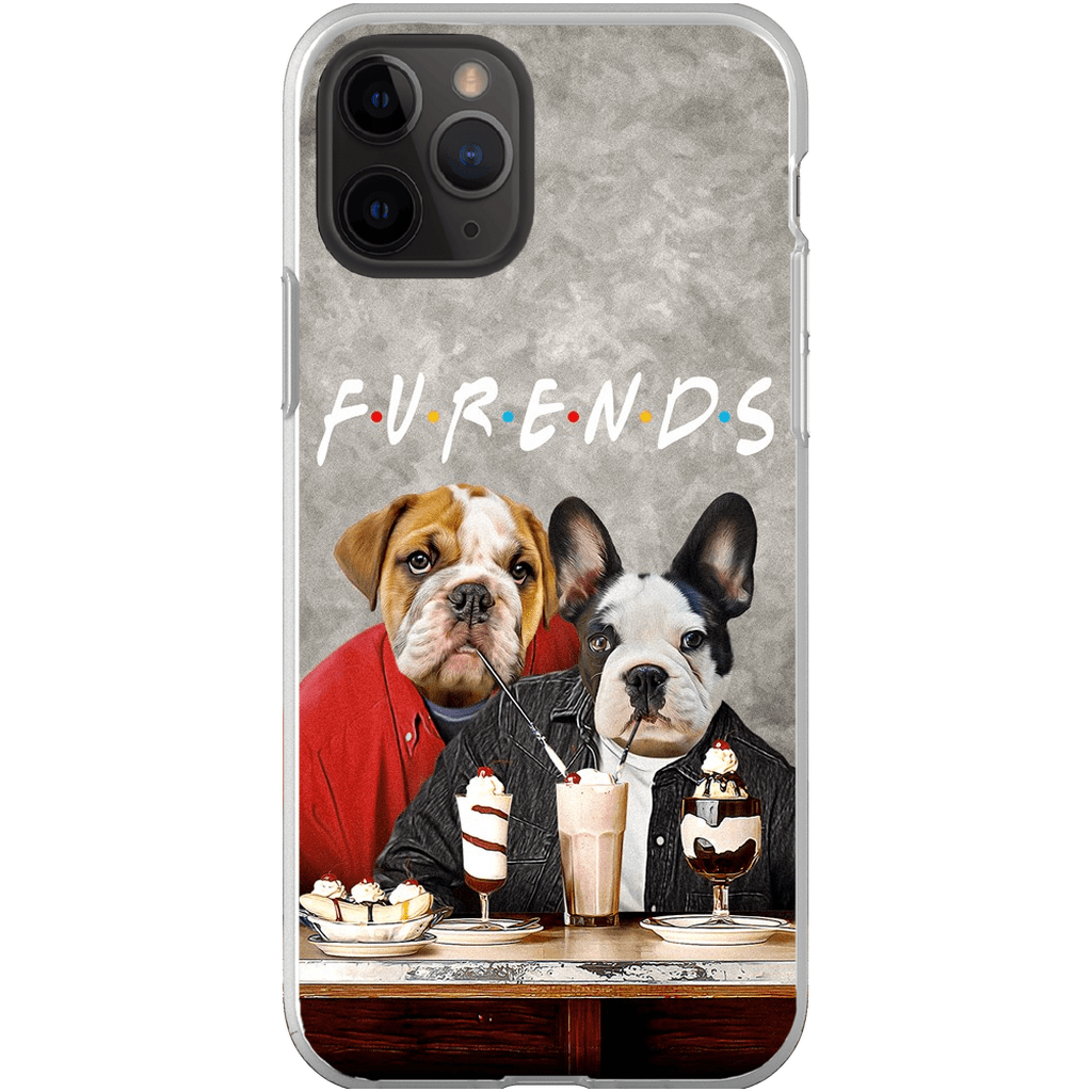 'Furends' Personalized 2 Pet Phone Case