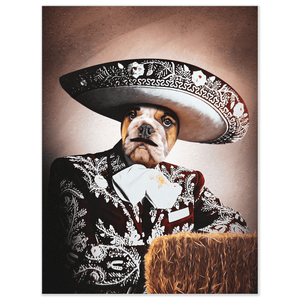 'Vicente Fernandogg' Personalized Dog Poster