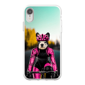 'The Female Cyclist' Personalized Phone Case