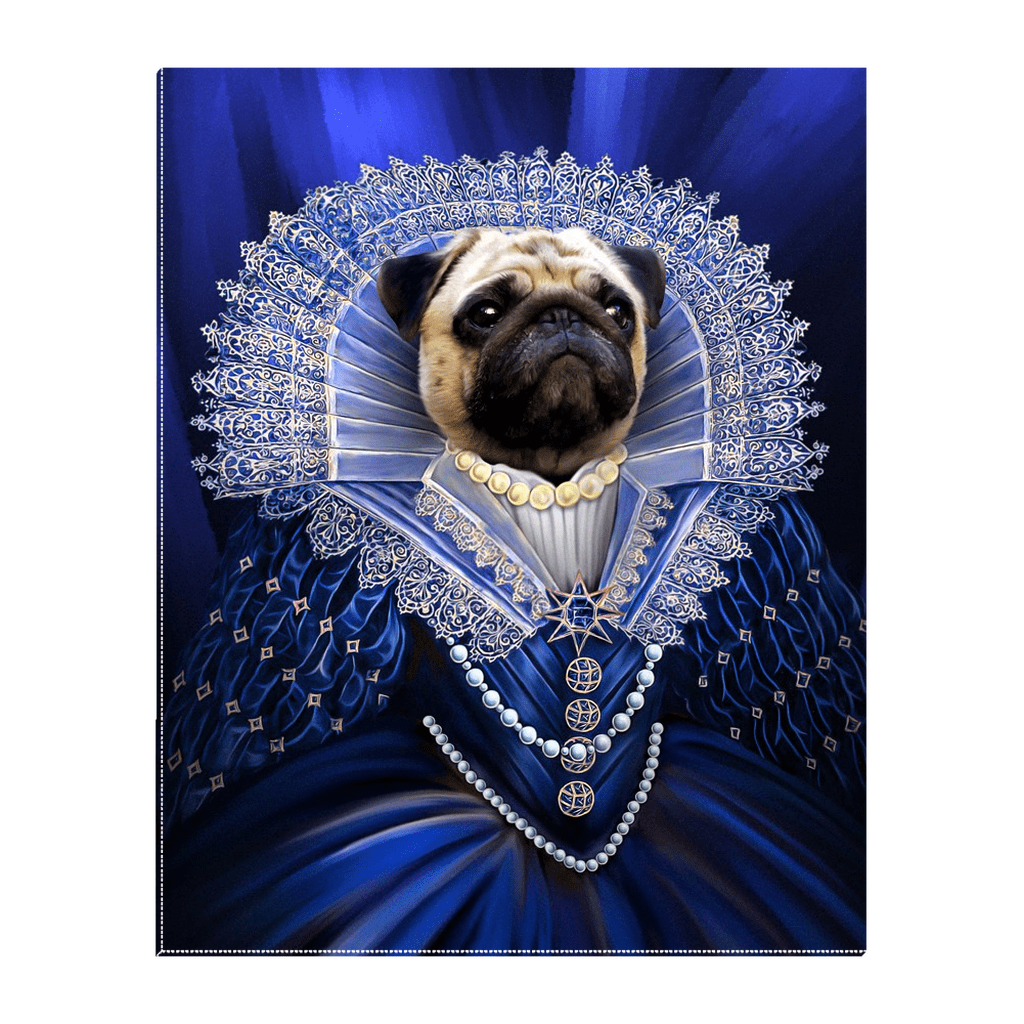 'The Baroness' Personalized Pet Standing Canvas