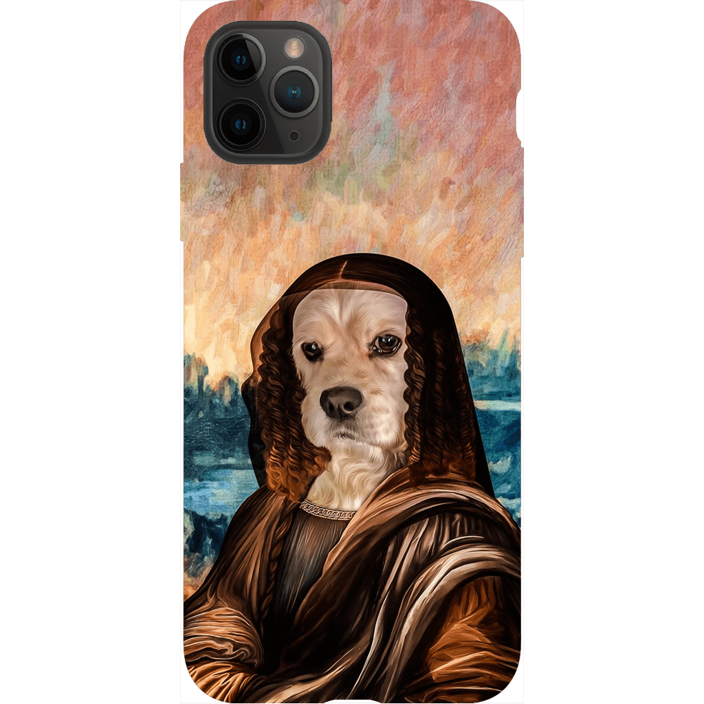 'Dogga Lisa' Personalized Phone Case