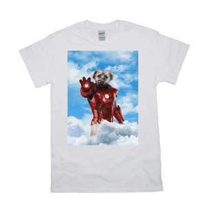 'The Iron Doggo' Personalized Pet T-Shirt