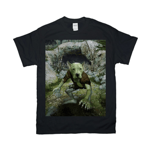 'The Goblin' Personalized Pet T-Shirt
