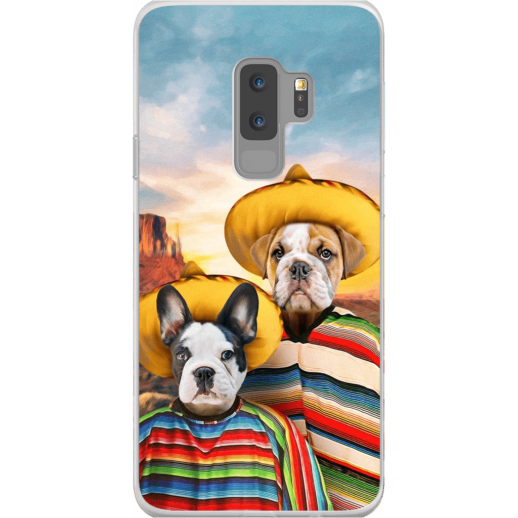 '2 Amigos' Personalized 2 Pet Phone Case