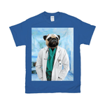 'The Doctor' Personalized Pet T-Shirt