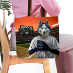 'The Baseball Player' Personalized Tote Bag