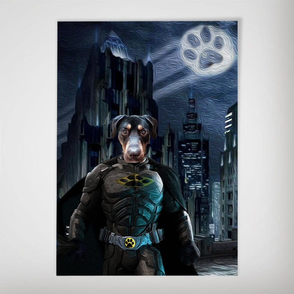'Batdog' Personalized Dog Poster