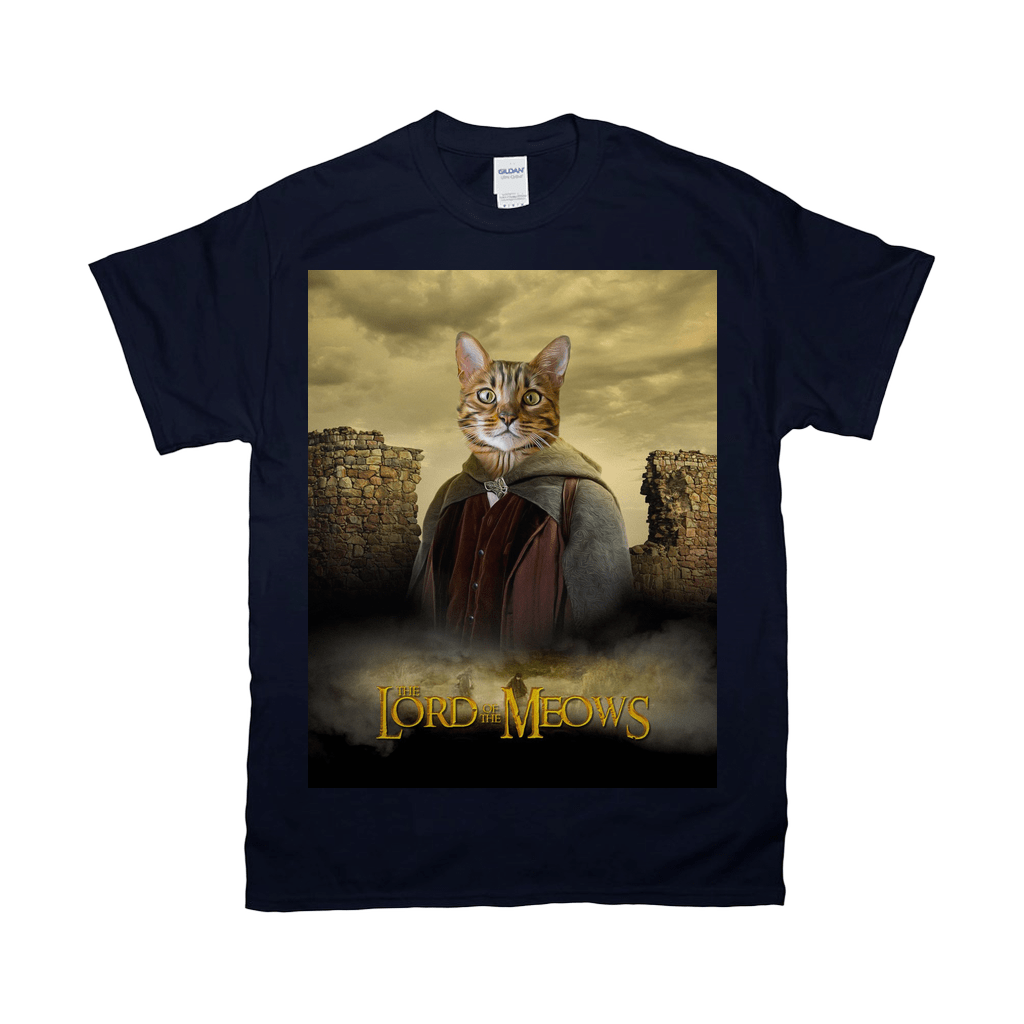 'Lord Of The Meows' Personalized Pet T-Shirt