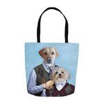 'Step Doggos' Personalized 2 Pet Tote Bag