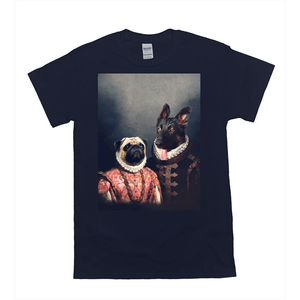 'Duke and Archduchess' Personalized 2 Pet T-Shirt