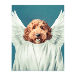 'The Angel' Personalized Pet Standing Canvas