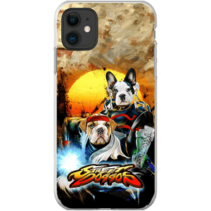 'Street Doggos 2' Personalized 2 Pet Phone Case