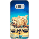 Top Paw: Personalized 2 Pet Phone Case