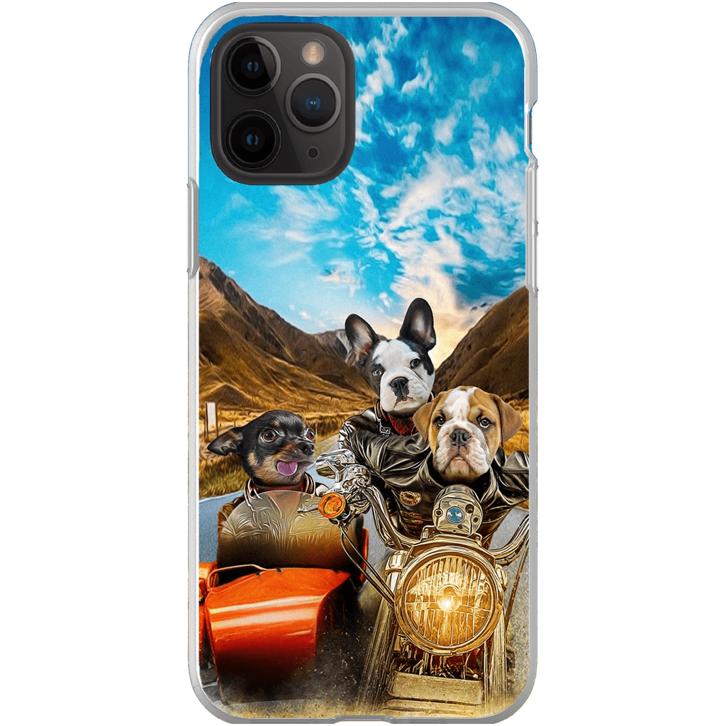 'Harley Wooferson' Personalized 3 Pet Phone Case