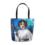 'Princess Leidown' Personalized Tote Bag