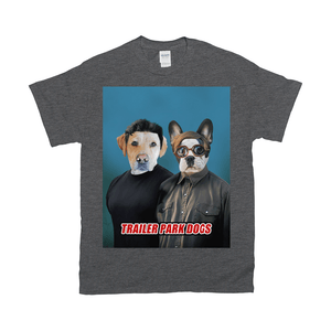 'Trailer Park Dogs 1' Personalized 2 Pet T-Shirt