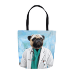 'The Doctor' Personalized Tote Bag