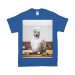'The Chef' Personalized Pet T-Shirt