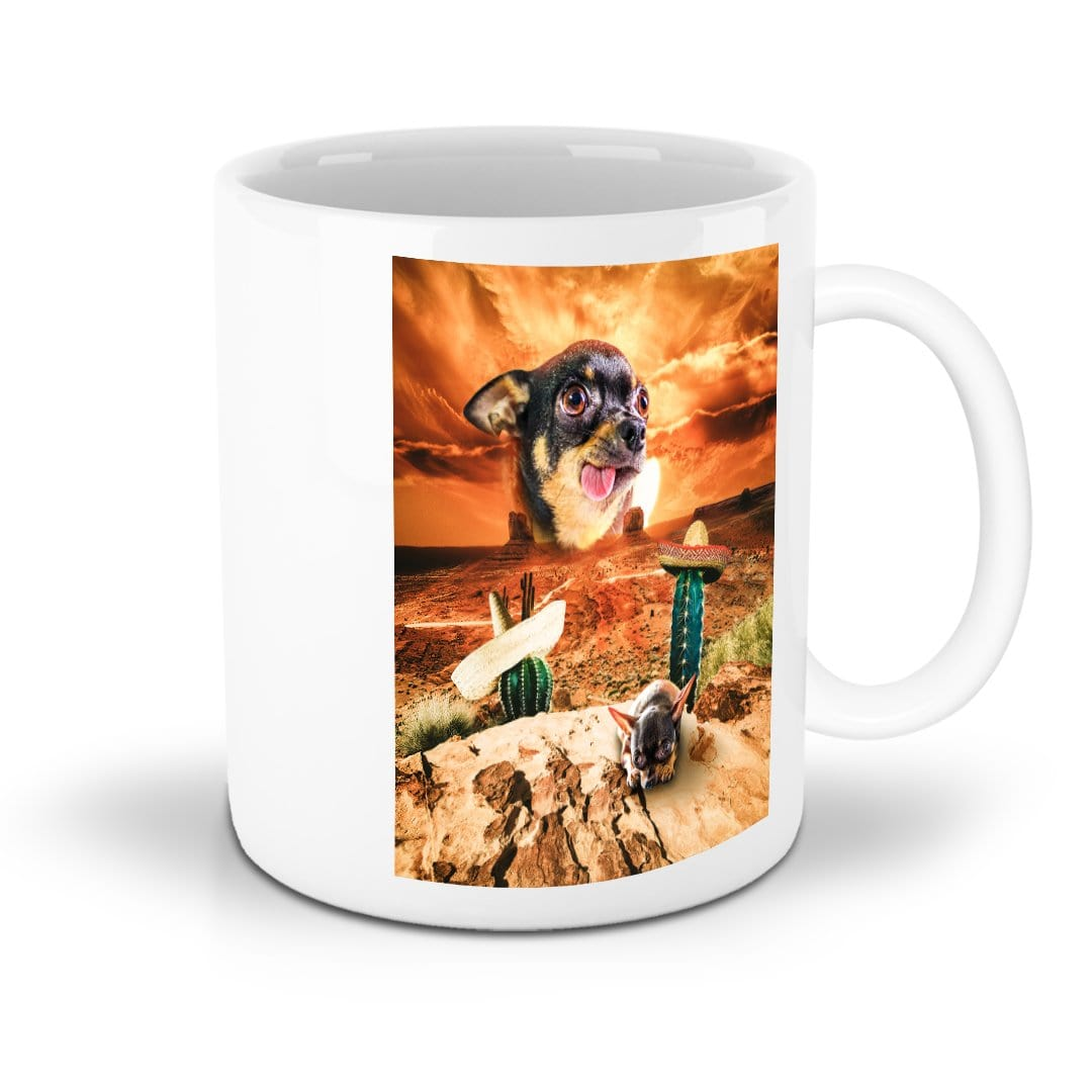 'Mexican Desert' Personalized Pet Mug