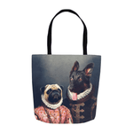 'Duke and Archduchess' Personalized 2 Pet Tote Bag