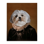 'The Duchess' Personalized Pet Standing Canvas