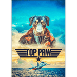 Top Paw: Personalized Poster