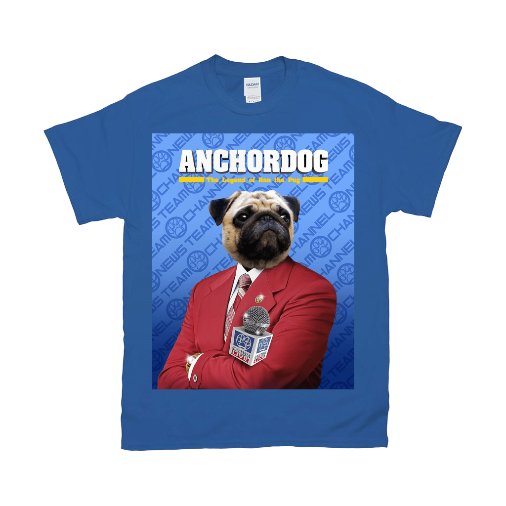 'Anchordog' Personalized Pet T-Shirt