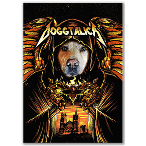 'Doggtalica' Personalized Dog Poster