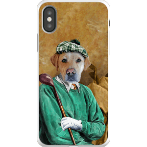 'The Golfer' Personalized Phone Case