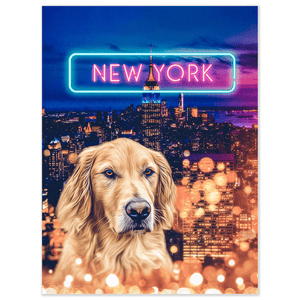 'Doggos of New York' Personalized Pet Poster