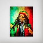 'Dog Marley' Personalized Dog Poster