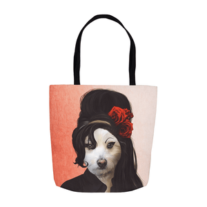 'Amy Doghouse' Personalized Tote Bag