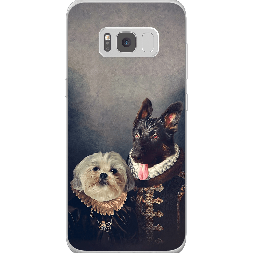 'Duke and Duchess' Personalized 2 Pet Phone Case