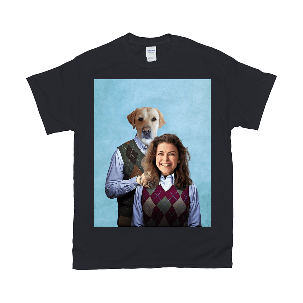 'Step Doggo & Human (Female)' Personalized T-Shirt