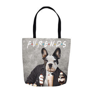 'Furends' Personalized Tote Bag