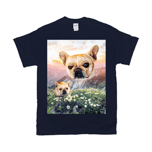 'Majestic Mountain Valley' Personalized Pet T-Shirt