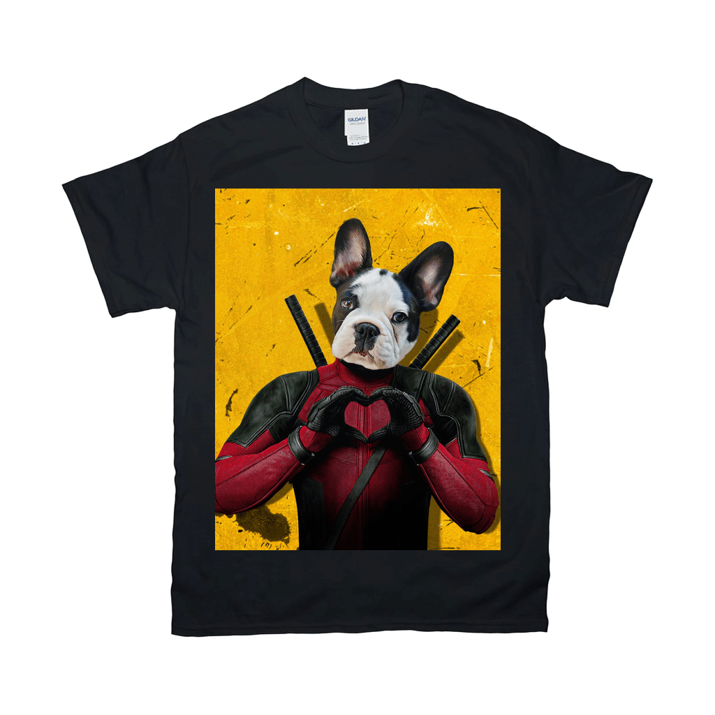 'Deadpaw' Personalized Pet T-Shirt