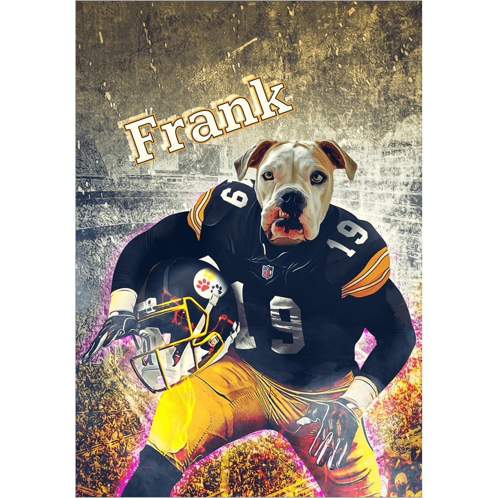 'Pittsburgh Doggos' Personalized Dog Poster