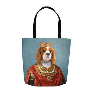 'The Queen' Personalized Tote Bag