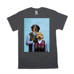 'Step Doggo & Doggette' Personalized 2 Pet T-Shirt